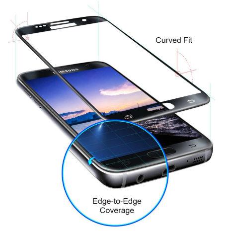 Samsung Galaxy S7 - HD-Clear Pansarglas med Ram (Full-Fit)