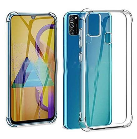 Samsung Galaxy A21S - Kraftfullt Floveme Silikonskal