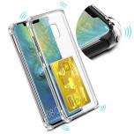 Huawei Mate 20 Pro - Smart Skyddsskal med Kortfack