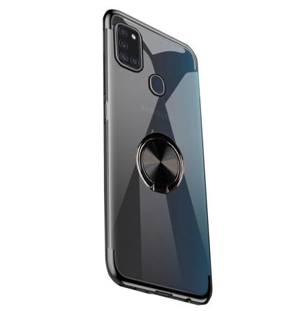 Samsung Galaxy A21S - Professionellt Floveme Skal med Ringhållare