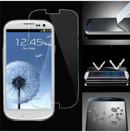 Samsung Galaxy S3 - HuTech Pansarglas/Skärmskydd