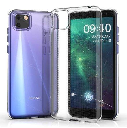 Huawei Y5p - Effektfullt Floveme Silikonskal