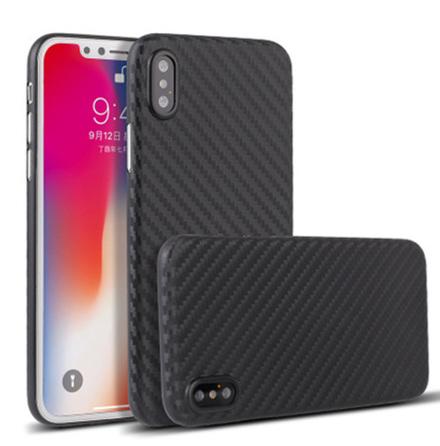 iPhone X/XS - Kraftfullt Stöttåligt Karbon Skal