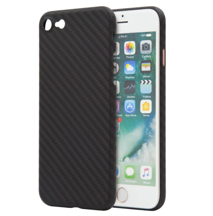 iPhone 7 - Stilsäkert Skyddsskal Karbon-Design