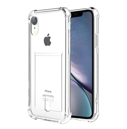 iPhone XR - Stötdämpande Floveme Skal med Korthållare