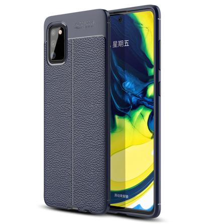 Samsung Galaxy S20 - Professionellt Litchi Läder Design Skal