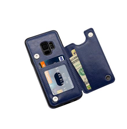 Samsung Galaxy S9 - NKOBEE Läderskal med Plånbok/Kortfack