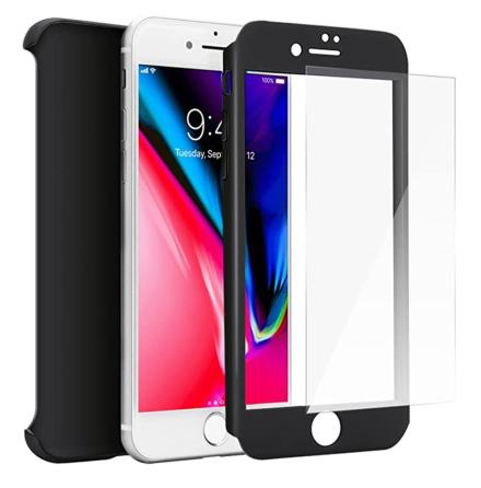 iPhone SE 2020 - Stilsäkert Skyddande Dubbelskal FLOVEME