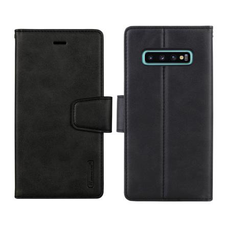 Samsung Galaxy S10 - Stilsäkert 2 i 1 Plånboksfodral HANMAN