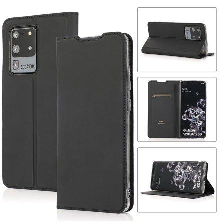Samsung Galaxy S20 Ultra - Praktiskt Stilrent Plånboksfodral