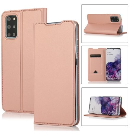 Samsung Galaxy S20 Plus - Elegant Smidigt Plånboksfodral