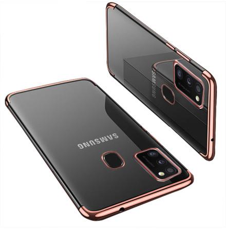 Samsung Galaxy A21S - Professionellt Skyddsskal i Silikon (FLOVEME)