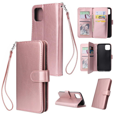 iPhone 11 Pro - Effektfullt Stilsäkert LEMAN Plånboksfodral