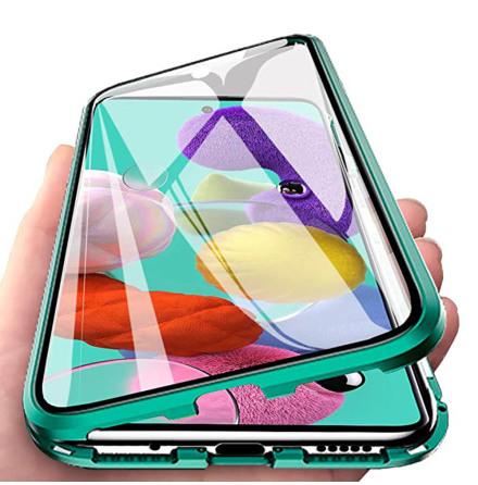 Samsung Galaxy S20 - Praktiskt Skyddande Magnetiskt Dubbelsidigt Skal