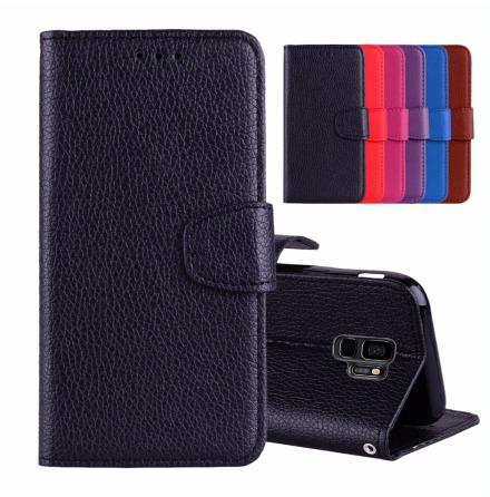 Samsung Galaxy S9+ - Stilrent Plånboksfodral från NKOBEE