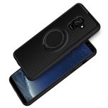 Samsung Galaxy A8 2018 - Carbon-Skal med Ringhållare FLOVEME