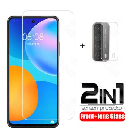 Huawei P smart 2021 Skärmskydd + Kameralinsskydd 0,2mm