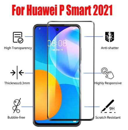 Huawei P smart 2021 Skärmskydd 2.5D 9H 0,3mm