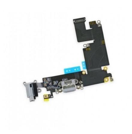 iPhone 6 Plus - Laddkontakt med Hörlursuttag (VIT eller GRÅ)