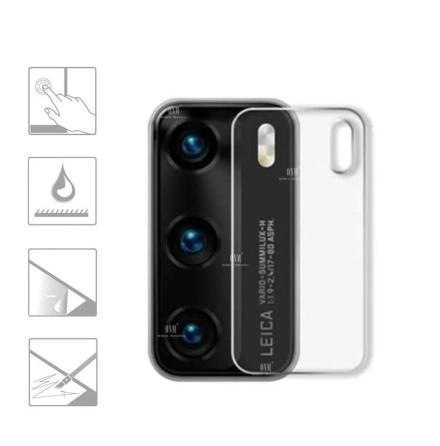 P40 2.5D Högkvalitativt HD-Clear Ultratunt Kameralinsskydd