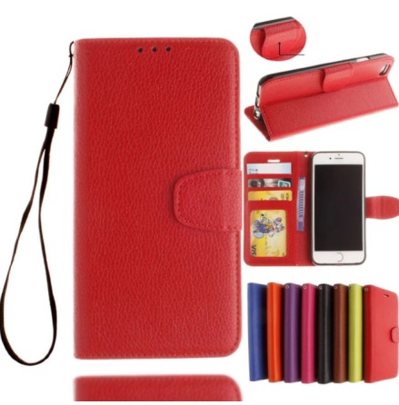 iPhone 8 Plus - Stilrent Plånboksfodral från NKOBEE