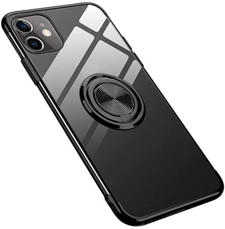 iPhone 12 - Praktiskt Stilrent Skal med Ringhållare