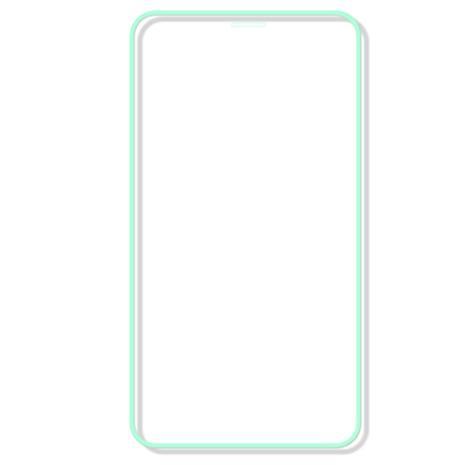 iPhone 8 Skärmskydd Självlysande Ram 9H 0,3mm