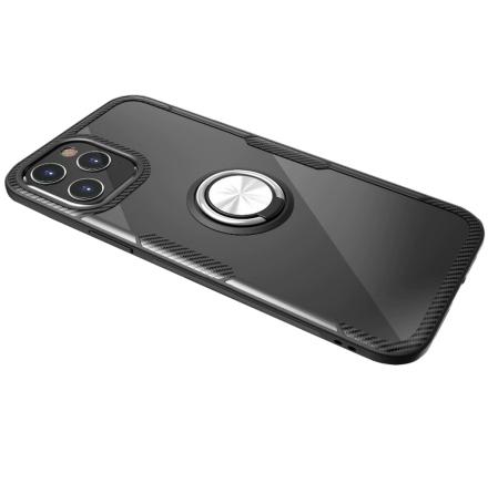 iPhone 12 Pro Max - Effektfullt Skal med Ringhållare (LEMAN)