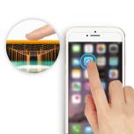 iPhone SE (2020) Mjukt Framsida & Baksida Skärmskydd PET 9H 0,2mm