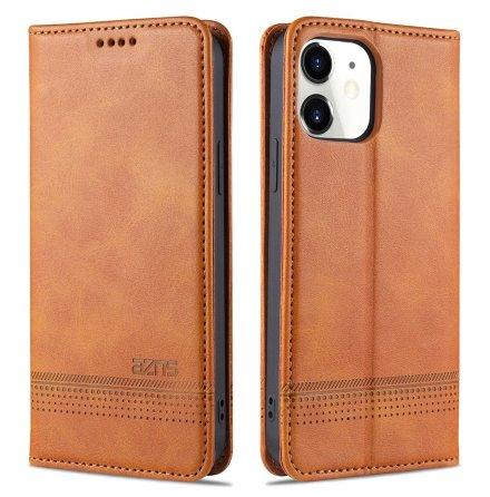 iPhone 12 - Stilrent Praktiskt Plånboksfodral (AZNS)
