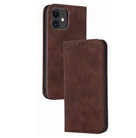 iPhone 12 - Stilrent Skyddande Plånboksfodral (FLOVEME)
