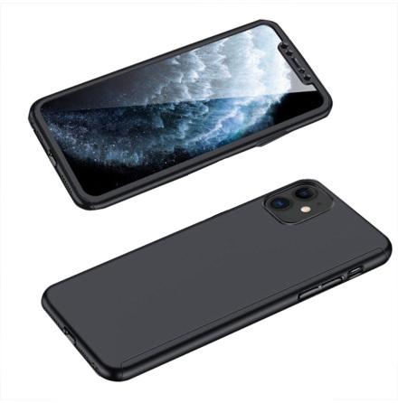 iPhone 12 - Stilsäkert Skyddande Dubbelsidigt Skal (FLOVEME)