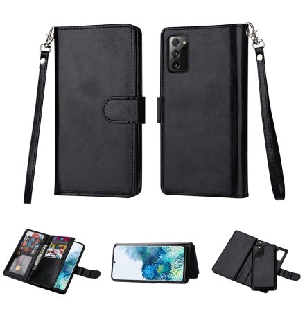 Samsung Galaxy Note 20 - Stilrent Robust 9-Korts Plånboksfodral