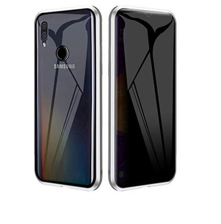 Samsung Galaxy A20E - Stilrent Skyddande Dubbelt Magnetiskt Skal