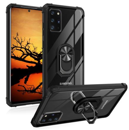 Samsung Galaxy Note 20 Ultra - Stötdämpande Skal med Ringhållare