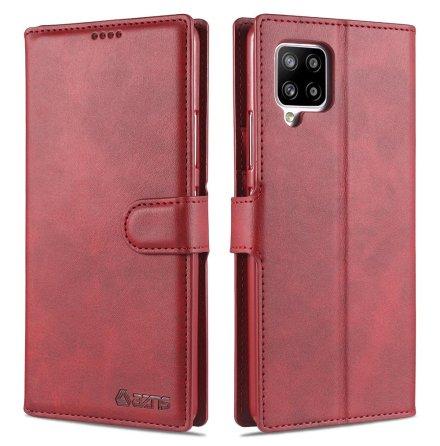 Samsung Galaxy A12 - Effektfullt Praktiskt AZNS Plånboksfodral