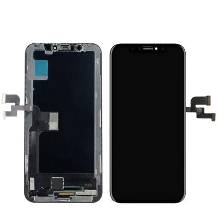 iPhone X GX Soft OLED LCD Skärm & Pekskärm Digitizer AAA+++