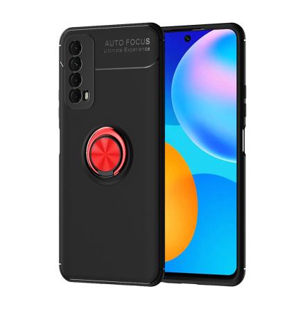 Huawei P Smart 2021 - Effektfullt Skyddsskal med Ringhållare