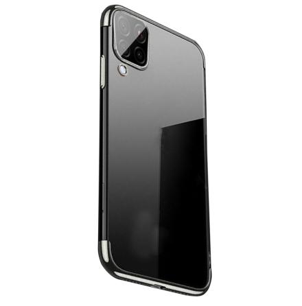Samsung Galaxy A12 - Stilrent Skyddande Floveme Silikonskal