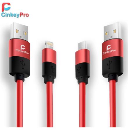 Lightning USB-kabel från CinkeyPro - Long-life 100cm