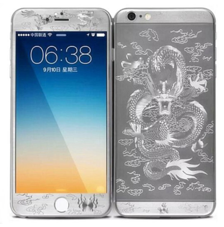 iPhone 6/6S - Pansarglas DRAGON Full-Fit (Fram+Bak) av HeliGuard