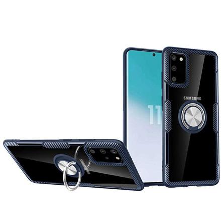 Samsung Galaxy S20 FE - Praktiskt Skal med Ringhållare LEMAN