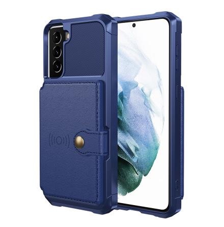 Samsung Galaxy S21 Plus - Stilrent Skal med Korthållare