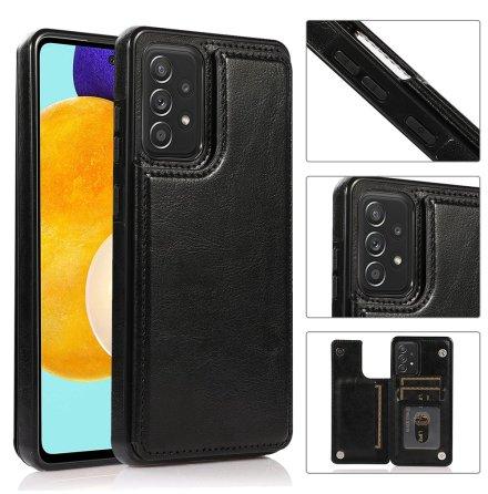 Samsung Galaxy A52 - Stilsäkert NKOBEE Skal med Korthållare