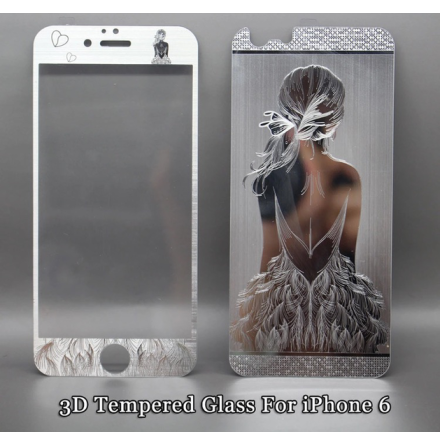 iPhone 6/6S - Pansarglas BEAUTY Full-Fit (Fram+Bak) av HeliGuard