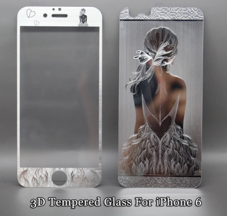 iPhone 6/6S - Pansarglas BEAUTY Full-Fit (Fram+Bak) av HeliGuard