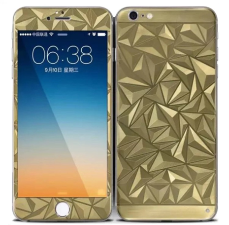 iPhone 6/6S - Pansarglas DIAMOND Full-Fit (Fram+Bak) HeliGuard