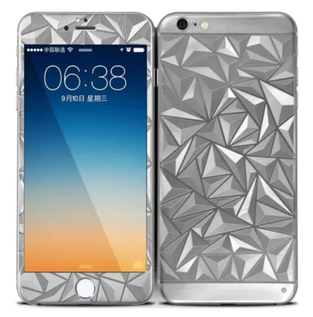 iPhone 6/6S Plus - Skärmskydd DIAMOND Full-Fit (Fram+Bak) HeliGuard