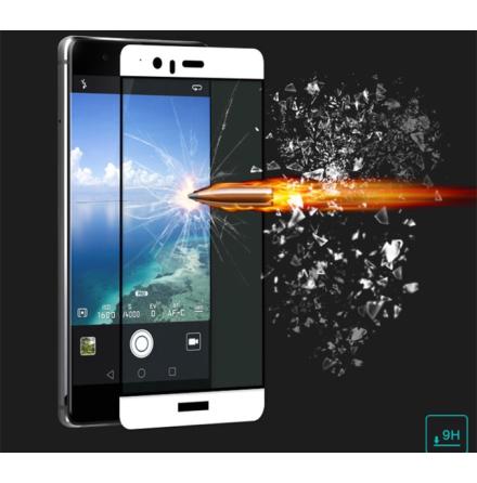 Huawei P9 - HeliGuards Heltäckande Pansarglas med Ram 3D (HD)
