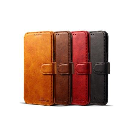 Stilrent Plånboksfodral i PU-Läder från SUTENI till Samsung Galaxy S8